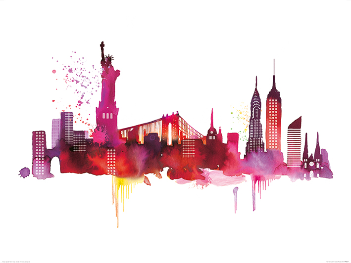 Summer Thornton (New York Skyline) Art Prints