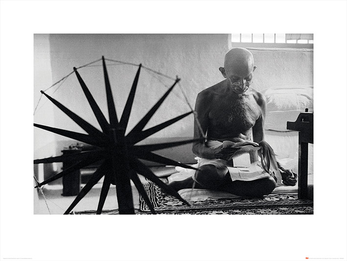 Time Life (Gandhi) Art Print