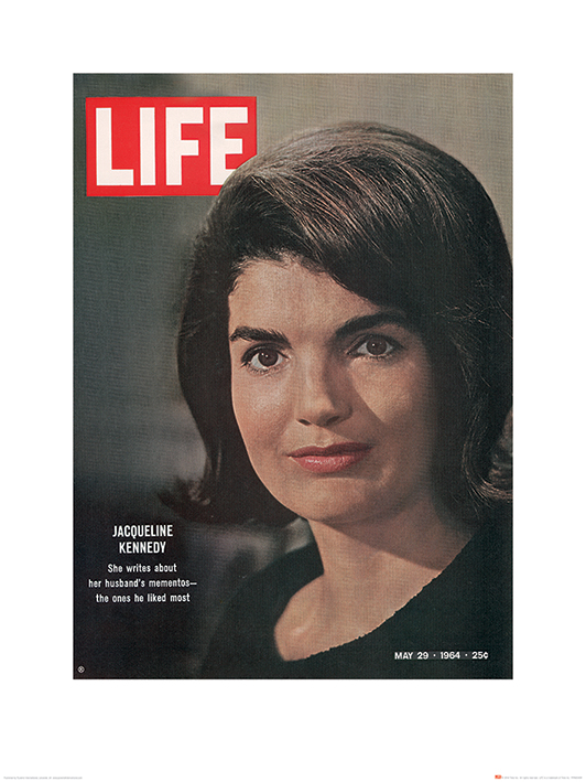 Time Life (Jackie Kennedy - Cover 1964) Art Print