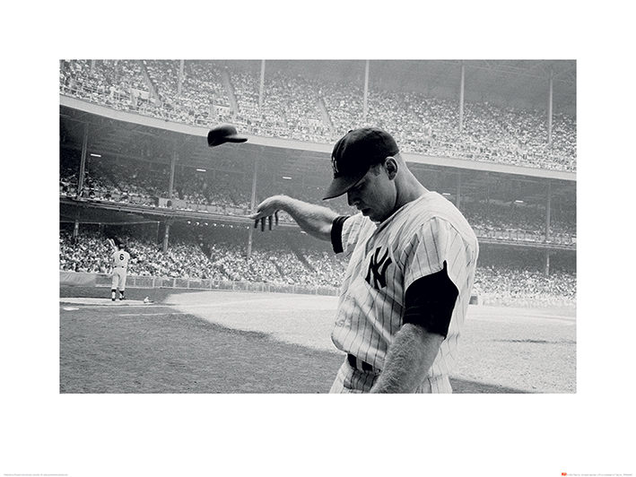 Time Life (Mickey Mantle 1965) Art Print