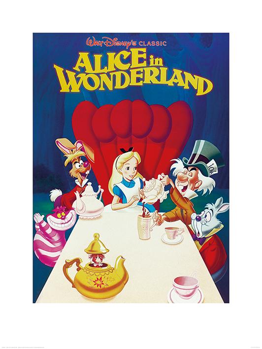 Alice In Wonderland (1989) Art Prints