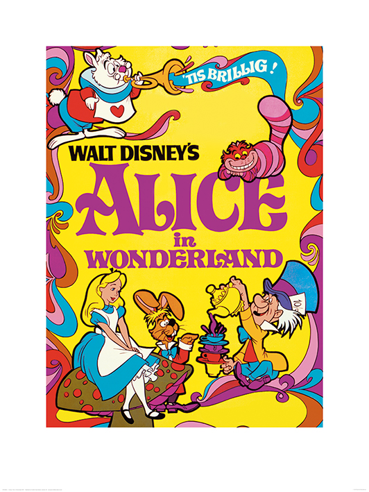 Alice In Wonderland (1974) Art Prints