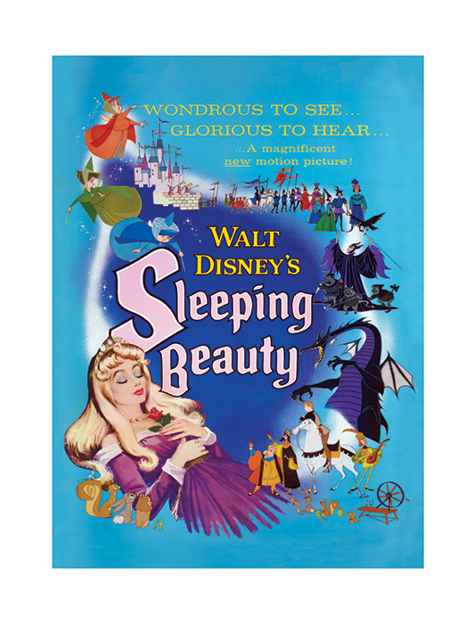 Sleeping Beauty (Glorious) Art Prints