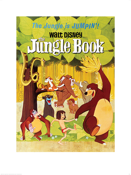 The Jungle Book (Jumpin') Art Prints