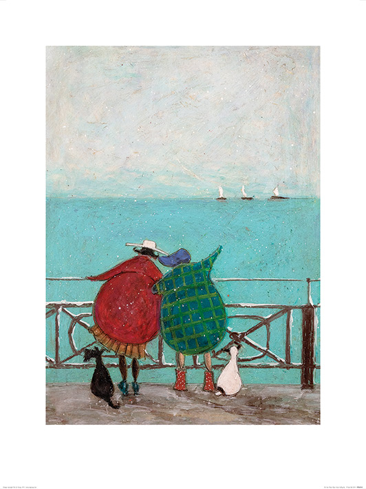 Sam Toft (We Saw Three Ships Come Sailing By) Art Print