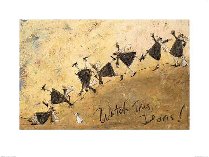 Sam Toft (Watch This, Doris!) Art Print