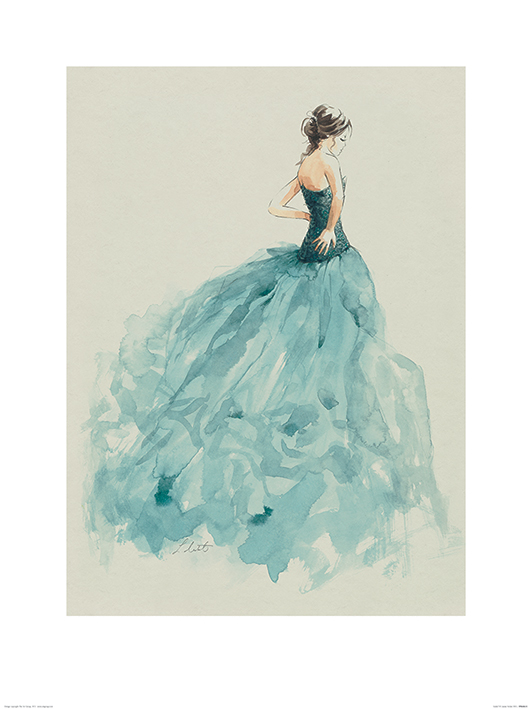 Louise Nisbet (Isobel) Art Print