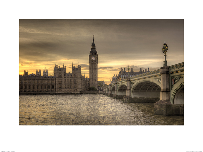 Rod Edwards (Autumn Skies, London, England) Art Print
