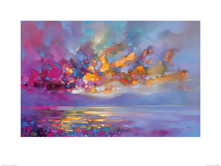 Scott Naismith (Magenta Refraction) Art Prints