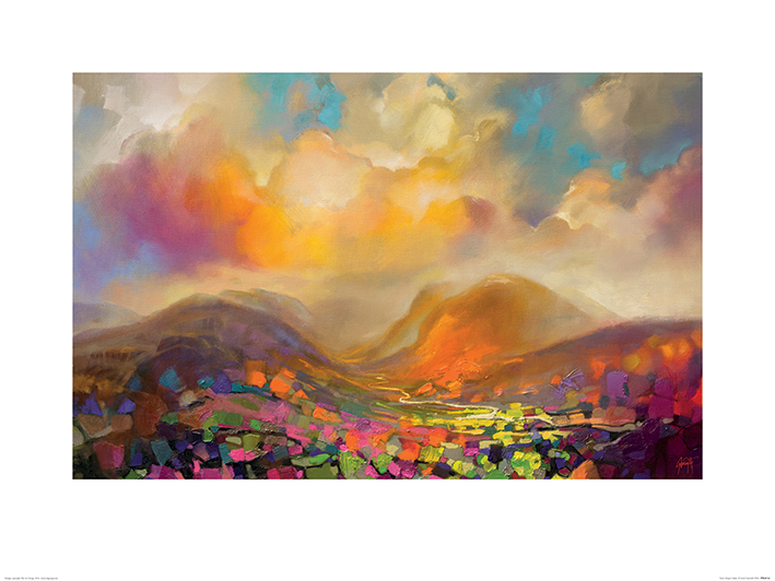 Scott Naismith (Nevis Range Colour) Art Prints