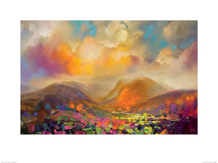Scott Naismith (Nevis Range Colour) Art Print