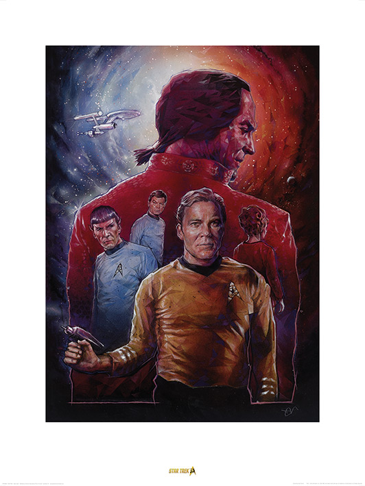 Star Trek (Space Seed) 50th Anniversary Art Prints