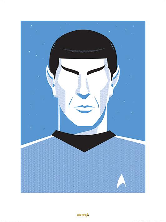 Star Trek (Pop Spock) - 50th Anniversary Art Print