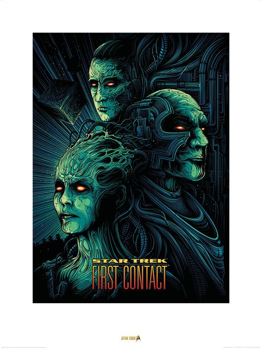 Star Trek (First Contact) 50th Anniversary Art Print