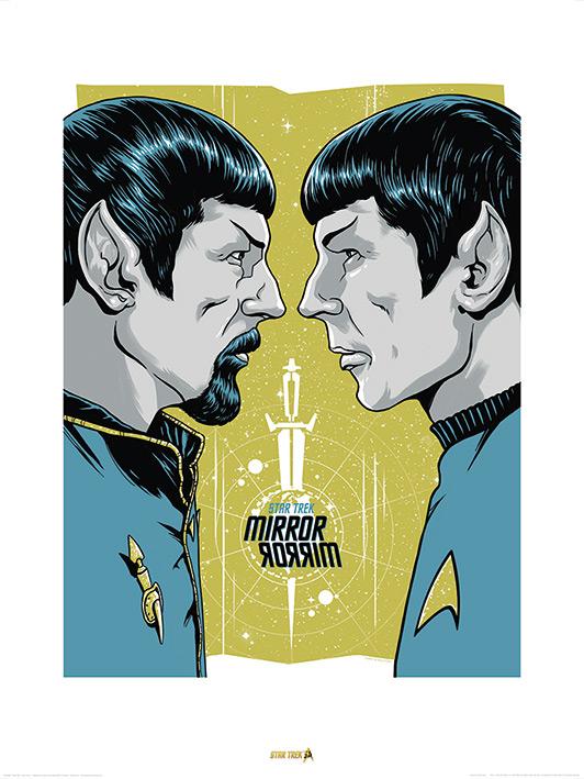 Star Trek (Mirror Mirror) 50th Anniversary Art Print