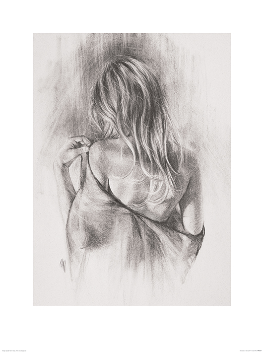 T. Good (Nocturnes in Charcoal II) Art Print