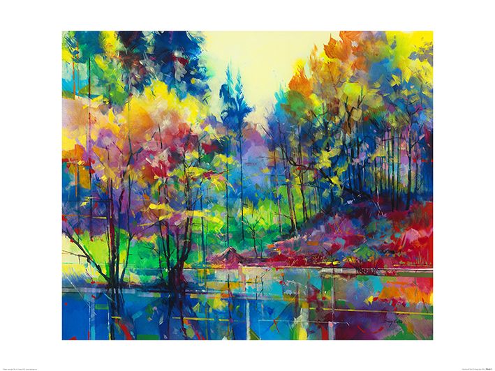 Doug Eaton (Meadowcliff Pond) Art Prints