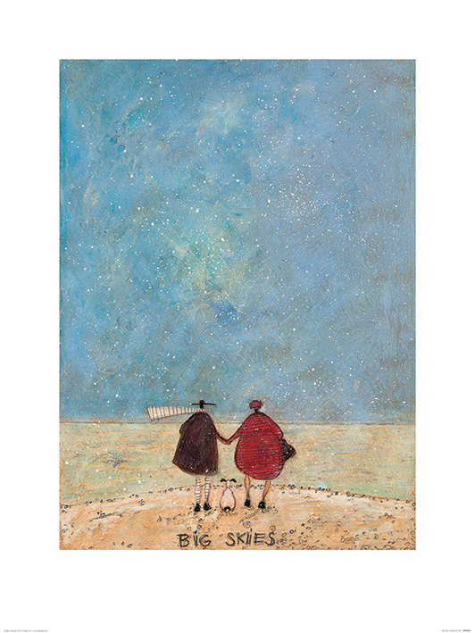 Sam Toft (Big Skies) Art Print