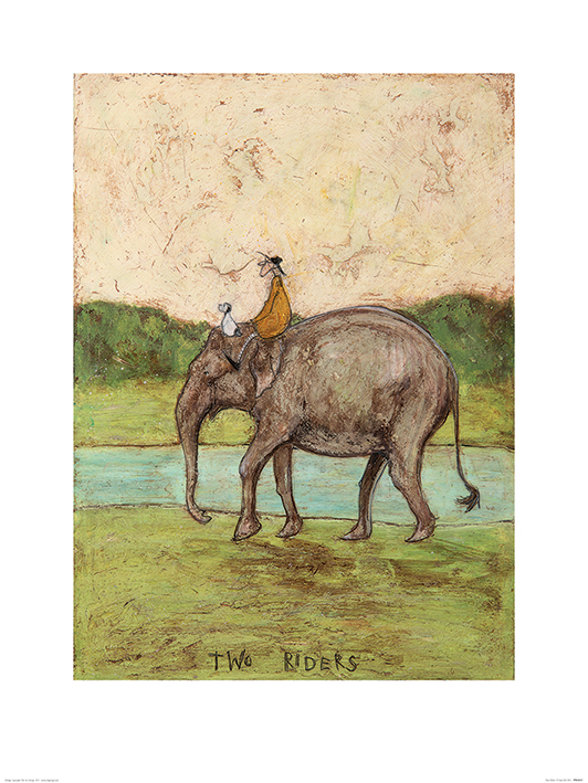 Sam Toft (Two Riders) Art Print