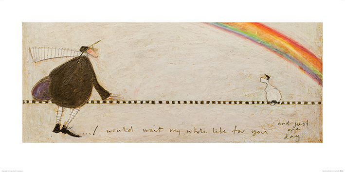 Sam Toft (I Would Wait My Whole Life For You) Art Prints