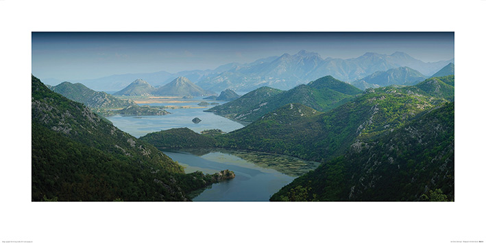 Rod Edwards (Lake Skadar, Montenegro) Art Print