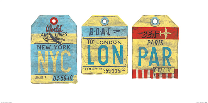 Barry Goodman (NYC - LON - PAR) Art Print