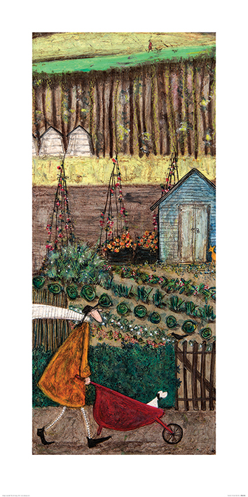 Sam Toft (Summer) Art Print