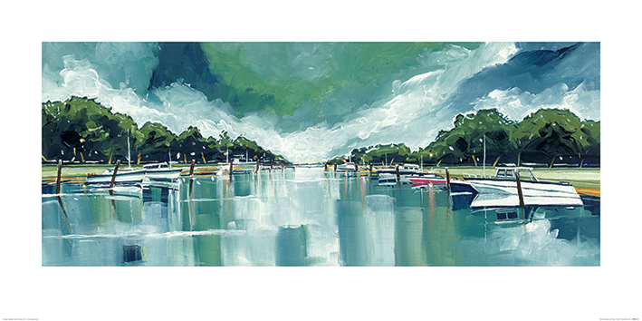 Stuart Roy (River Mornings and Angry Clouds) Art Print