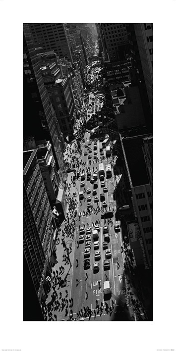 Pete Seaward (New York Street) Art Print