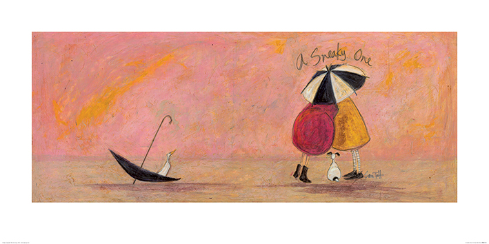 Sam Toft (A Sneaky One II) Art Print