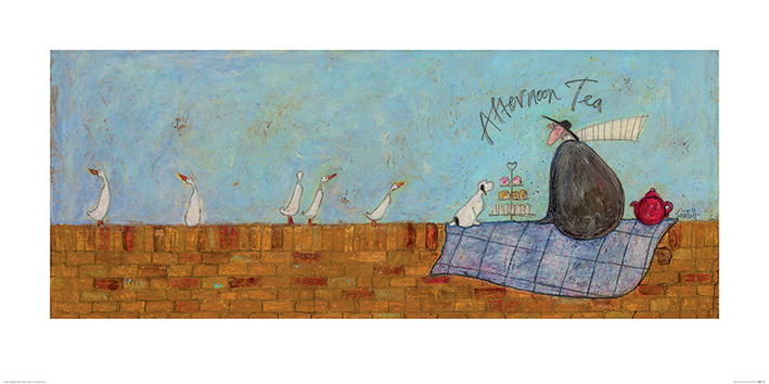 Sam Toft (Afternoon Tea) Art Prints