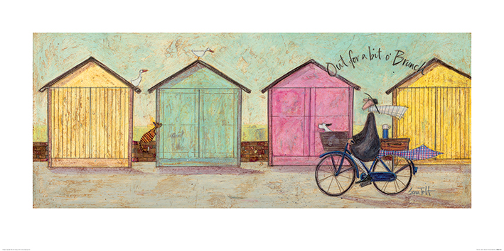 Sam Toft (Out for a bit o' Brunch) Art Print