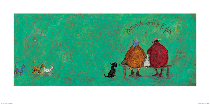 Sam Toft (Putting the World to Rights) Art Print