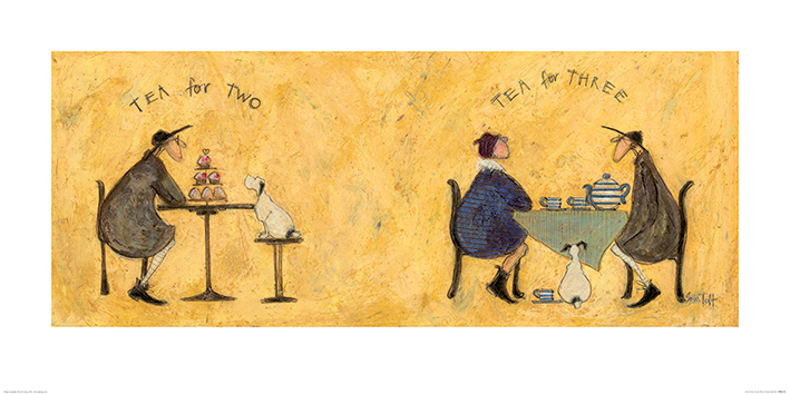 Sam Toft (Tea for Two Tea for Three) Art Print