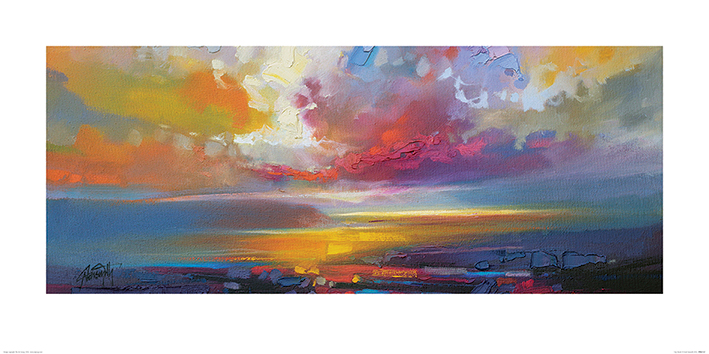 Scott Naismith (Uig Clouds) Art Print