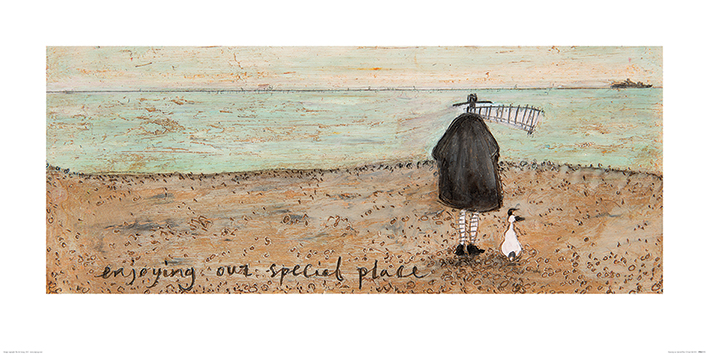 Sam Toft (Enjoying our Special Place) Art Print