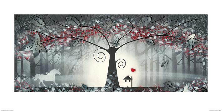 Garry Floyd (The Enchanted Forest I) Art Prints