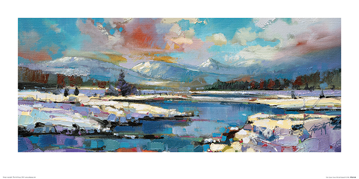 Scott Naismith (Glen Spean Snow) Art Prints