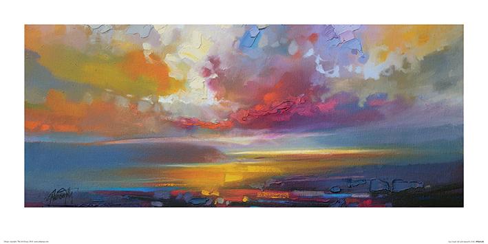 Scott Naismith (Uig Clouds) Art Prints