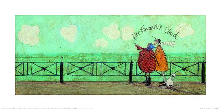 Sam Toft (Her Favourite Cloud II) Art Prints