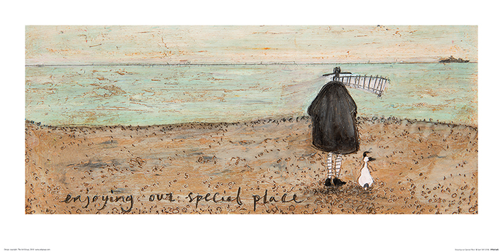 Sam Toft (Enjoying our Special Place) Art Prints