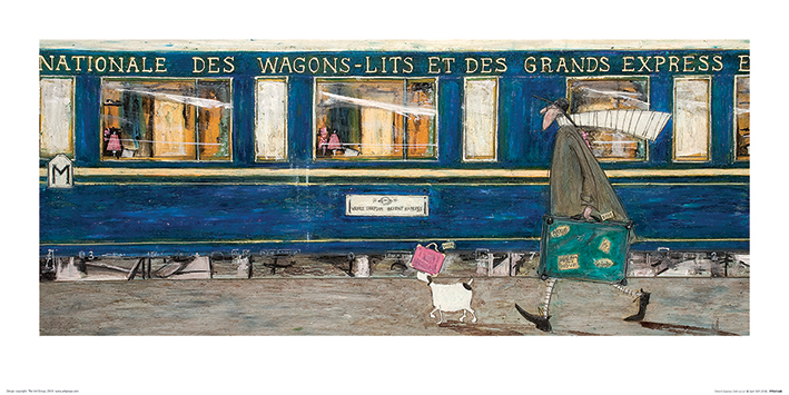 Sam Toft (Orient Express Ooh La La) Art Prints