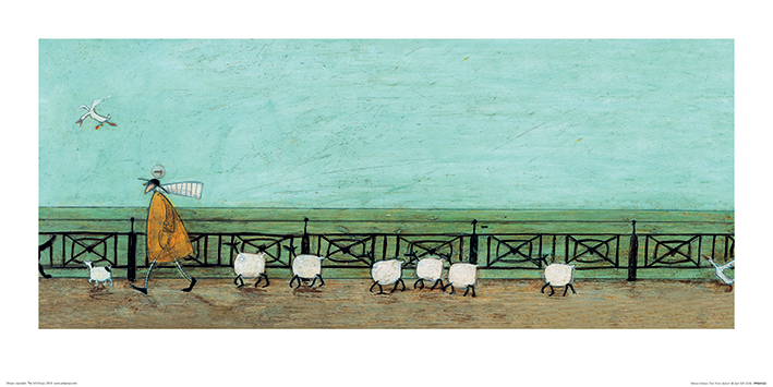 Sam Toft (Moses Follows That Picnic Basket) Art Prints