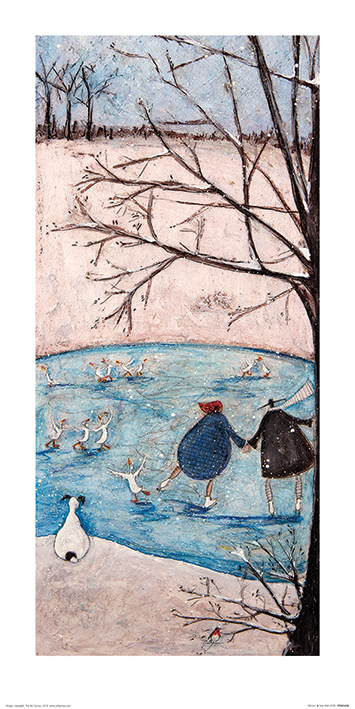 Sam Toft (Winter) Art Prints