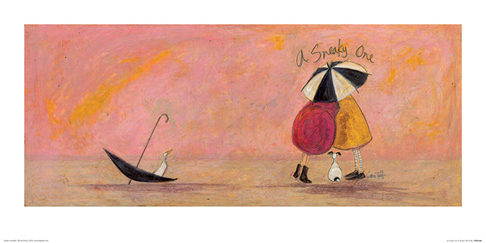 Sam Toft (A Sneaky One II) Art Prints
