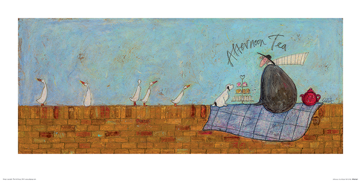 Sam Toft (Afternoon Tea) Art Print