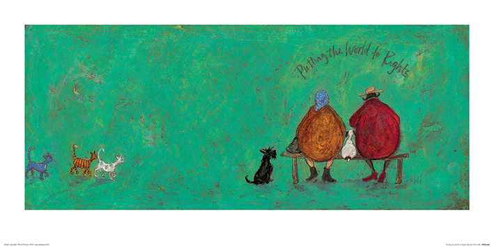 Sam Toft (Putting the World to Rights) Art Prints