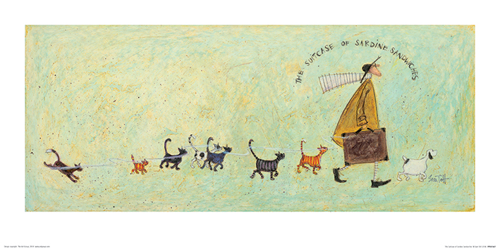 Sam Toft (The Suitcase of Sardine Sandwiches) Art Prints