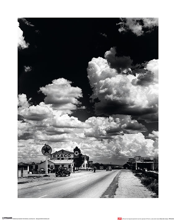 Time Life (Route 66, Arizona) Art Prints