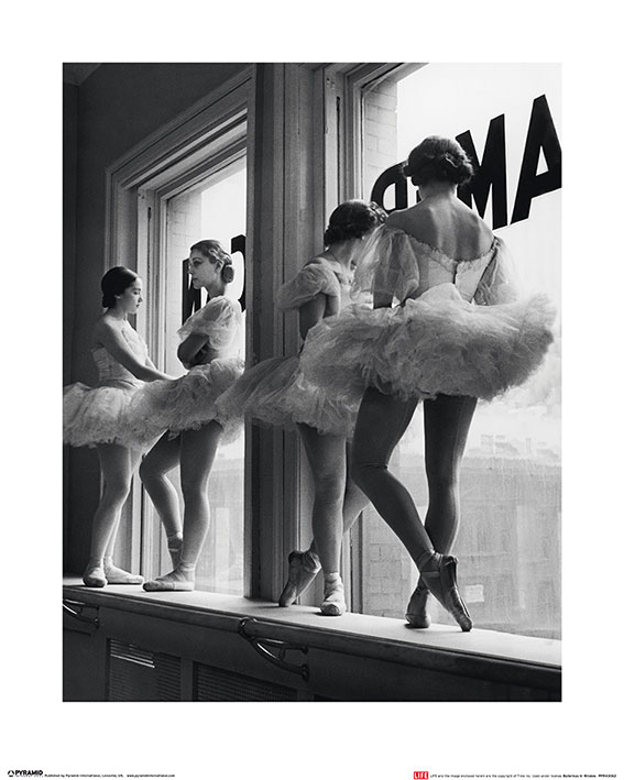 Time Life (Ballerinas in Window) Art Prints